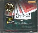 CD image ALBINONI / 12 CONCERTI A CINQUE OP.5 / STANDAGE