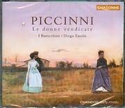 CD image PICCINNI / LE DONNE VENDICATE MUSICAL INTERMEZZI / FASOLIS (2CD)