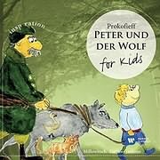 CD Image for PROKOFIEV PETER UND DER WOLF: FOR KIDS - O PETROS KAI O LYKOS - (VARIOUS)