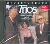 CD image MOZART - BRUCH / TRIOS FOR CLARINET VIOLA AND PIANO / PETERKOVA