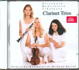 CD image BARTOK - KHACHATURIAN - MILHAUD / CLARINET TRIOS / PETERKOVA