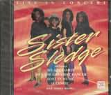 CD image for SISTER SLEDGE / LIVE IN CONCERT