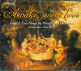 CD image AWAKE SWEET LOVE / ENGLISH LUTE SONGS BY PURCELL AND DOWLAND / CHANCE - MULLER (2CD)