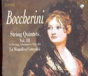 CD image BOCCHERINI / STRING QUINTETS VOL.3 / LA MAGNIFICA COMUNITA (2CD)