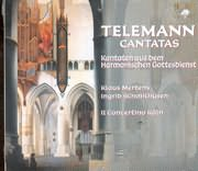 CD image TELEMANN / KANTATEN AUS DEM HARMONISCHEN GOTTESDIENT / MERTENS - SCHMITHUSEN - IL CONCERTINO KOLN (2CD)