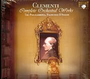 CD image CLEMENTI / COMPLETE ORCHESTRAL WORKS / D AVALOS (3CD)