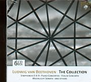 CD image BEETHOVEN / THE COLLECTION / VARIOUS 6CD
