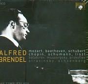 CD image ALFRED BRENDEL / MOZART - BEETHOVEN - SCHUBERT - CHOPIN - SCHUMANN - LISZT - BALAKIREV - (35CD)
