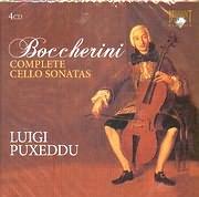 BOCCHERINI / COMPLETE CELLO SONATAS - LUIGI PUXEDDU - (4CD)