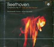 CD image BEETHOVEN / SYMPHONY N 9 - ODE AN DIE FREUDE - HERBERT BLOMSTEDT