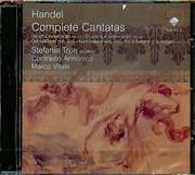 CD image for HANDEL / COMPLETE CANTATAS - VOL 2 - STEFANIE TRUE SOPRANO - CONSTRASTO ARMONICO - MARCO VITALE