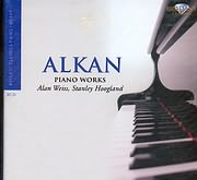 CD image ALKAN / PIANO WORKS - ALAN WEISS - STANLEY HOOGLAND (3CD)