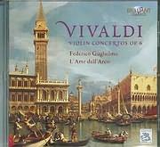 CD image VIVALDI / VIOLIN CONCERTOS OP 6 - FEDERICO GUGLIELMO - L ARTE DELL ARCO