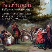 CD image BEETHOVEN / FOLK SONG ARRANGEMENTS (5CD)