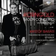 CD image KORNGOLD / VIOLIN CONCERTO AND VIOLIN SONATA (KRISTOF BARATI)