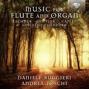 CD image MUSIC FOR FLUTE AND ORGAN (DANIELE RUGGIERI, ANDREA TOSCHI)