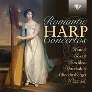 CD image ROMANTIC HARP CONCERTOS (CHARLOTTE BALZEREIT, GISELLE HERBERT, JUTTA ZOFF, JANA BOUSKOVA) (2CD)