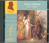 CD image MOZART / STRING QUINTETS K.515 AND 593 / THE ORLANDO QUARTET