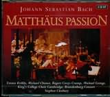 CD image BACH J.S / MATTHAUS PASSION / GOODMAN - CLEOBURY (3CD)