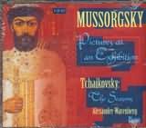 CD image MUSSORGSKY - TCHAIKOVSKI / PICTURES AT AN EXIBITION - THE SEASONS / WARENBERG (2CD)