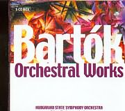 CD image BARTOK / ORCHESTRAL WORKS - HUNGARIAN STATE SYMPHONY ORCHESTRA - ADAM FISCHER (5CD)