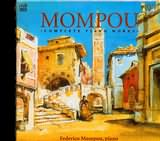 MOMPOU / <br>COMPLETE PIANO WORKS / <br>MOMPOU (4CD)
