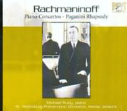 CD image RACHMANINOFF / PIANO CONCERTOS - PAGANINI RHAPSODY - MICHAEL RUDY PIANO - ST PETERSBURG P.O. - (2CD)