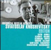 HISTORICAL RUSSIAN ARCHIVES - SVIATOSLAV KNUSHEVITSKY / EDITION - (5CD)