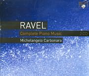 CD image RAVEL / COMPLETE PIANO MUSIC - MICHELANGELO CARBONARA - (2CD)