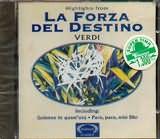 CD image VERDI / LA FORZA DEL DESTINO [HIGHLIGHTS]