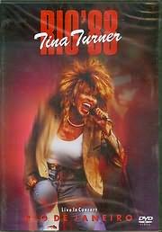 DVD image TINA TURNER - RIO 88 (LIVE IN CONCERT RIO DE JANEIRO 1988) - (DVD VIDEO)