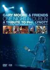 DVD image GARY MOOR / ONE NIGHT IN DUBLIN - A TRIBUTE TO PHIL LYNOTT - (DVD)