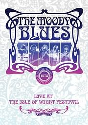 DVD image MOODY BLUES - LIVE AT THE ISLE OF WIGHT - (DVD)