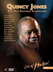 DVD image QUINCY JONES - THE 75TH BIRTHDAYS CELEBRATION - LIVE AT MONTREUX - (DVD)