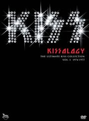 DVD image KISS - KISSOLOGY (THE ULTIMATE COLLECTION VOL. 2) - (DVD)