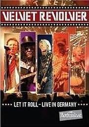 DVD image VELVET REVOLVER - LET IT ROLL, LIVE IN GERMANY - (DVD)