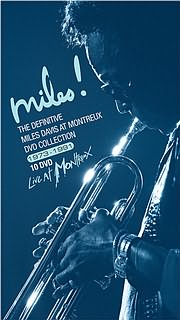 DVD image MILES DAVIS - LIVE AT MONTREUX - THE DEFINITIVE COLLECTION (10 DVD) - (DVD)