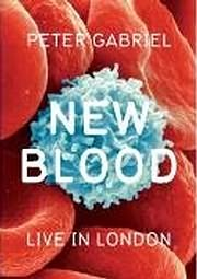 DVD image PETER GABRIEL - NEW BLOOD LIVE IN LONDON - (DVD)