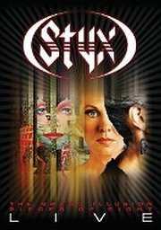 DVD image STYX - PIECES OF 8 - GRAND ILLUSION - LIVE - (DVD)