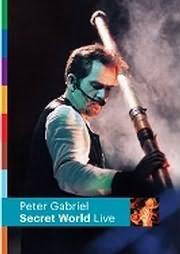 DVD image PETER GABRIEL - SECRET WORLD - (DVD)