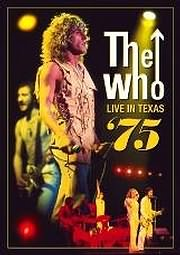 DVD image THE WHO - LIVE IN TEXAS 75 - (DVD)