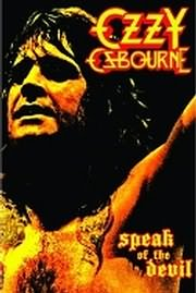 DVD image OZZY OSBOURNE - SPEAK THE DEVIL - (DVD)