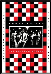DVD image MUDDY WATERS AND ROLLING STONES - LIVE AT THE CHECKERBOARD LOUNGE - (DVD)