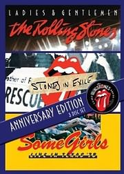 DVD image ROLLING STONES - BOX SET: EXILE - L AND G - SOME GIRLS (3 DVD) - (DVD)