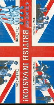 BRITISH INVASION (4CD BOX SET) - (VARIOUS)