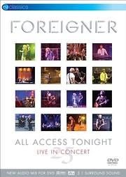 DVD image FOREIGHNER - 25: ALL ACCESS TONIGHT - (DVD)