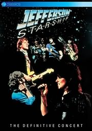 DVD image JEFFERSON STARSHIP / THE DEFINITIVE CONCERT - (DVD)