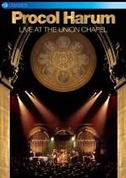 DVD image PROCOL HARUM - LIVE FROM THE UNION CHAPPEL (DVD + CD) - (DVD)