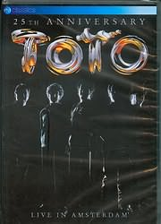 DVD image TOTO - LIVE IN AMSTERDAM - (DVD)