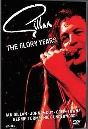DVD image GILLAN - THE GLORY YEARS - (DVD)